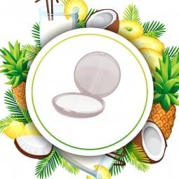 Fogli di sapone al cocco